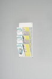 Stojánek na letáky, (10 x DL)