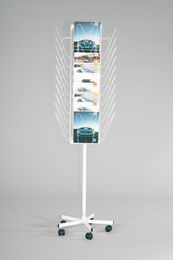 Stojan otoèný pojízdný STOP 01, (40 x A4)