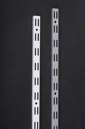 Lišta na zeï DVOUØADÁ 50 cm, bílá - zvìtšit obrázek